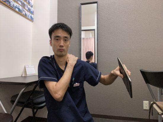 頚椎症を治すストレッチ手首9