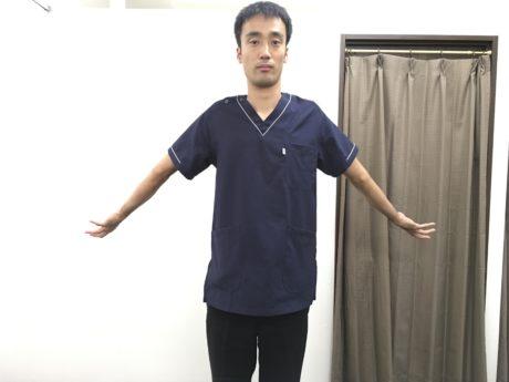 頸椎ヘルニアストレッチ2