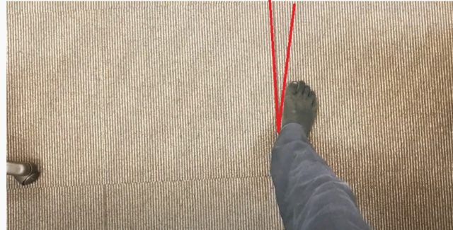 足の痛みを治す歩き方1