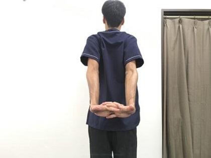 肋間神経痛おすすめストレッチその6−2