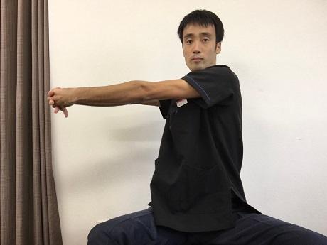 肋間神経痛おすすめストレッチその1−3