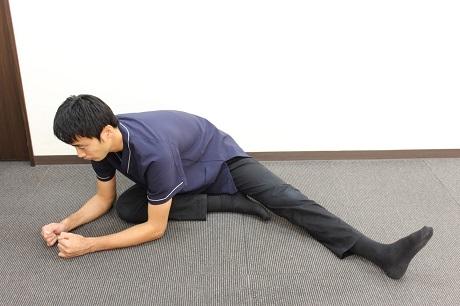 肋間神経痛おすすめストレッチその4−1