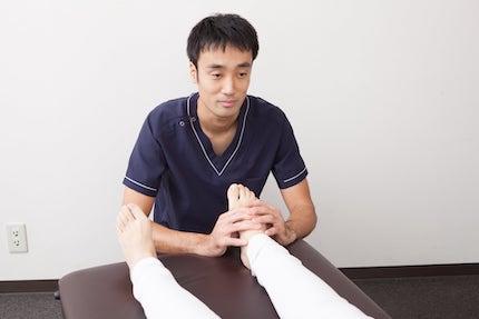 足首の矯正