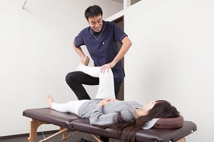 ぎっくり腰施術2